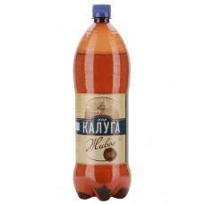 Пиво МОЯ КАЛУГА Живое светлое алк.4,5% ПЭТ, Россия, 1.42 L