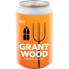 Пиво N.RIGAS Grant Wood светлое нефильтр. непастер. осветл. алк.5% ж/б, Россия, 0.45 L