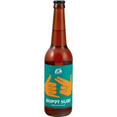 Пиво светлое AF BREW Hoppy surf нефильтрованное непастеризованное неосветленное, 5,3%, 0.5л, Россия, 0.5 L