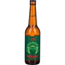 Пиво светлое AF BREW Mosaic нефильтрованное непастеризованное неосветленное, 6,7%, 0.5л, Россия, 0.5 L