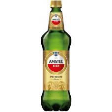 Пиво светлое AMSTEL Premium Pilsener фильтрованное, пастеризованное, 4,8%, ПЭТ, 1.3л, Россия, 1.3 L