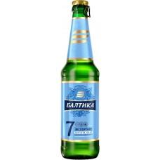 Пиво светлое БАЛТИКА 7 Экспортное, 5,4%, 0.47л, Россия, 0.47 L