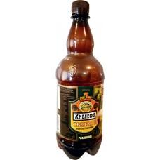 Пиво светлое ХМЕЛЕФФ нефильтрованное, осветленное разливное, 4%, ПЭТ, 1л, Россия, 1 L