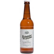 Пиво светлое KONIX BREWERY Bogemian pilsener нефильтрованное, 4,6%, 0.5л, Россия, 0.5 L