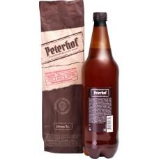 Пиво светлое PETERHOF Живое непастеризованное нефильтрованное, 4,6%, ПЭТ, 1л, Россия, 1 L