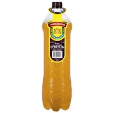 Пиво светлое ПРИЯТЕЛЬ нефильтрованное разливное, 4,9%, ПЭТ, 1.5л, Россия, 1.5 L