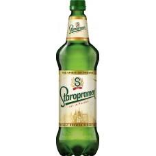 Пиво светлое STAROPRAMEN фильтрованное пастеризованное, 4,2%, 1.3л, Россия, 1.3 L