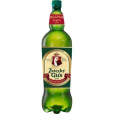Пиво светлое ZATECKY GUS Традиционное пастеризованное, 4,6%, ПЭТ, 1.5л, Россия, 1.5 L