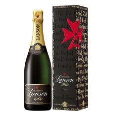 Шампанское LANSON BLACK LABEL белое брют, п/у, 0.75л, Франция, 0.75 L