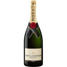 Шампанское MOET & CHANDON IMPERIAL белое брют, 1.5л, Франция, 1.5 L