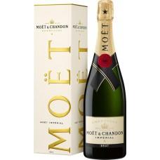 Шампанское MOET & CHANDON Империаль белое брют, п/у, 0.75л, Франция, 0.75 L