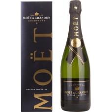 Шампанское MOET & CHANDON Моэт и Шандон Нектар Империаль белое полусухое, п/у, 0.75л, Франция, 0.75 L