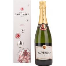 Шампанское TAITTINGER BRUT RESERVE выдерж. бел. брют п/у, Франция, 0.75 L
