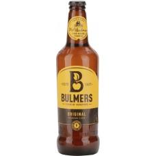 Сидр BULMERS Original яблочный игристый полусладкий, 4,5%, 0.5л, Великобритания, 0.5 L