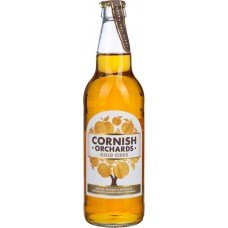 Сидр CORNISH Orchards Gold cider яблочный, 5%, 0.5л, Великобритания, 0.5 L