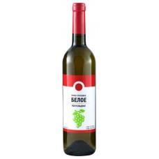 Вино 365 ДНЕЙ столовое белое полусладкое, 0.7л, Россия, 0.7 L