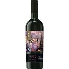 Вино AGORA Мускат Черный столовое красное сладкое, 0.75л, Россия, 0.75 L