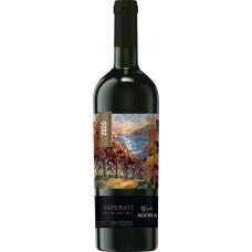 Вино AGORA Саперави столовое красное полусладкое, 0.75л, Россия, 0.75 L