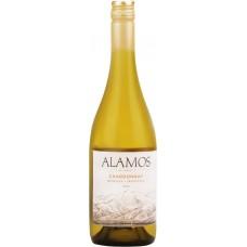 Вино ALAMOS Шардоне Мендоза защ. наим. мест. происх. белое сухое, 0.75л, Аргентина, 0.75 L