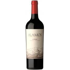 Вино ALAMOS Сира Мендоза защ. наим. мест. происх. красное сухое, 0.75л, Аргентина, 0.75 L