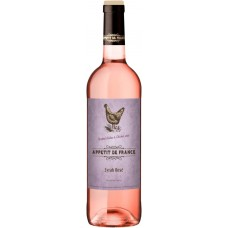 Вино APPETIT DE FRANCE Сирастоловое розовое сухое, 0.75л, Франция, 0.75 L