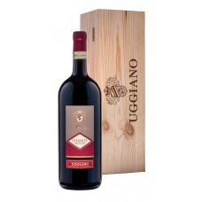 Вино AZIENDA UGGIANO PRESTIGE CHIANTI Тоскана Кьянти DOCG красное сухое, п/у, 1.5л, Италия, 1.5 L
