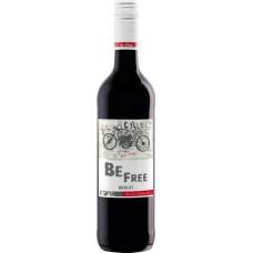 Вино безалкогольное BE FREE Мерло красное полусладкое, 0.75л, Германия, 0.75 L