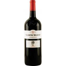 Вино BODEGAS RAMON BILBAO Crianza Риоха DOC красное сухое, 1.5л, Испания, 1.5 L