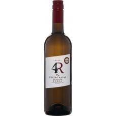 Вино CUATRO RAYAS Вердехо Руэда DO белое сухое, 0.75л, Испания, 0.75 L