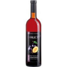 Вино фруктовое DIFRUCT Сливовое полусладкое, 0.75л, Молдова, 0.75 L