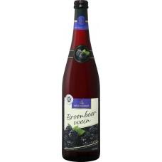 Вино фруктовое KATLENBURGER Ежевичное полусладкое, 0.75л, Германия, 0.75 L