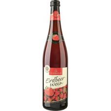 Вино фруктовое KATLENBURGER Клубничное полусладкое, 0.75л, Германия, 0.75 L