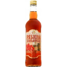 Вино фруктовое РУССКАЯ МОЗАИКА Рябина коньячная стол. п/сл. алк.14%, Россия, 0.5 L