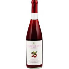 Вино фруктовое ВЕСЬЕГОНСКОЕ Вишневое полусладкое, 0.7л, Россия, 0.7 L