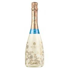 Вино игристое ACQUESI ASTI Secco Пьемонт DOCG белое сухое, 0.75л, Италия, 0.75 L