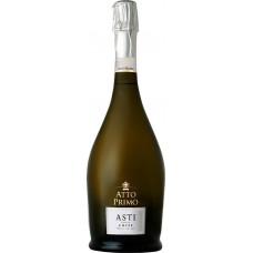 Вино игристое ATTO PRIMO ASTI Пьемонт DOCG белое сладкое, 0.75л, Италия, 0.75 L