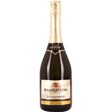 Вино игристое BAGRATIONI 1882 CLASSIC выдержанное белое полусладкое, 0.75л, Грузия, 0.75 L