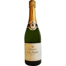 Вино игристое BARON DE CLARY белое брют, 0.75л, Франция, 0.75 L