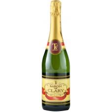 Вино игристое BARON DE CLARY белое полусладкое, 0.75л, Франция, 0.75 L