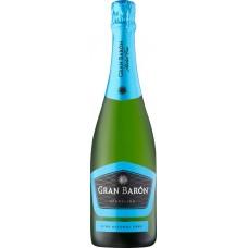 Вино игристое безалкогольное GRAN BARON белое сладкое, 0.75л, Испания, 0.75 L