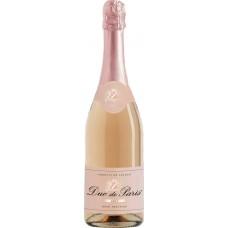Вино игристое DUC DE PARIS роз. брют, Франция, 0.75 L