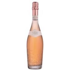 Вино игристое FLEURS DE PRAIRIE розовое брют, 0.75л, Франция, 0.75 L