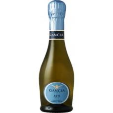 Вино игристое GANCIA ASTI Пьемонт DOCG белое сладкое, 0.2л, Италия, 0.2 L