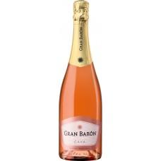Вино игристое GRAN BARON Rose Кава DO розовое брют, 0.75л, Испания, 0.75 L
