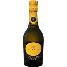 Вино игристое LA GIOIOSA Prosecco Treviso Венето DOC белое брют, 0.375л, Италия, 0.375 L
