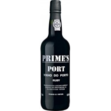 Вино ликерное PORTO PRIME'S RUBY PORT Доуро защ. наим. мест. происх. красное, 0.75л, Португалия, 0.75 L