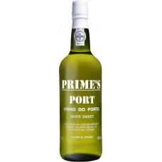 Вино ликерное PORTO PRIME'S WHITE PORT Доуро защ. наим. мест. происх. белое, 0.75л, Португалия, 0.75 L