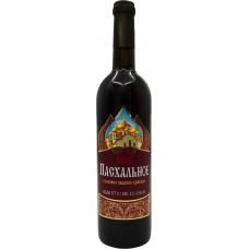 Вино ПАСХАЛЬНОЕ столовое кр. сл., Россия, 0.7 L