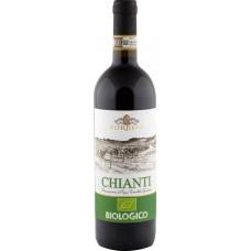 Вино SORELLI CHIANTI BIOLOGICO Тоскана DOCG красное сухое, 0.75л, Италия, 0.75 L
