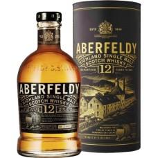Виски ABERFELDY 12 лет, 40%, п/у, 0.7л, Великобритания, 0.7 L